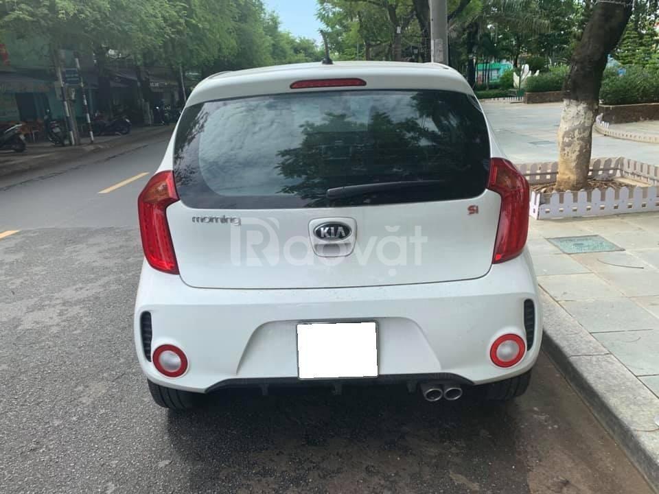 Bán xe Kia Morning SI 2019, số sàn, màu trắng