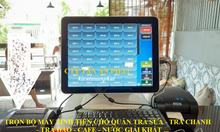 Trọn bộ máy tính tiền cho quán Trà Chanh tại TpHCM