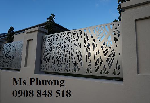 Nguyên Phong nhận gia công, thi công hàng rào sắt sơn epoxy cao cấp