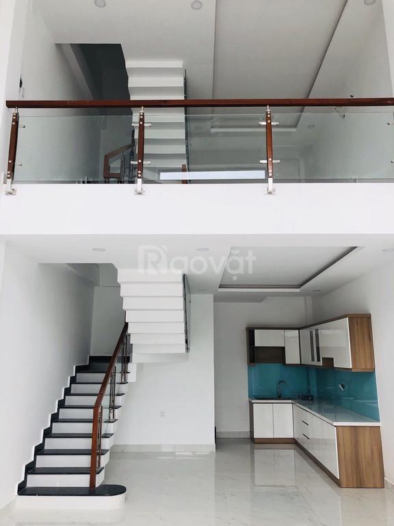 Bán nhà đẹp 1 trệt 1 lửng 2 lầu Thạnh Xuân 22  Q12 SHR