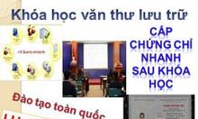 Học chứng chỉ văn thư lưu trữ tại Quảng Bình