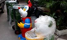 Thùng rác con thú, nhựa cao cấp
