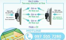 Giải pháp thông gió nhà xưởng 2 chiều