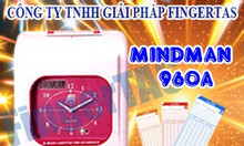 Máy chấm công thẻ giấy M960A/M960 lắp đặt và bảo hành miễn phí