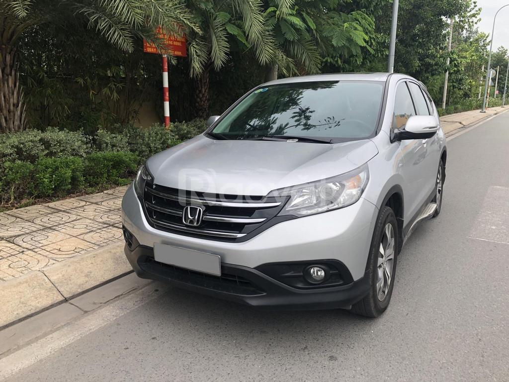 Honda CRV dk 2016 màu bạc tự động Full chức năng
