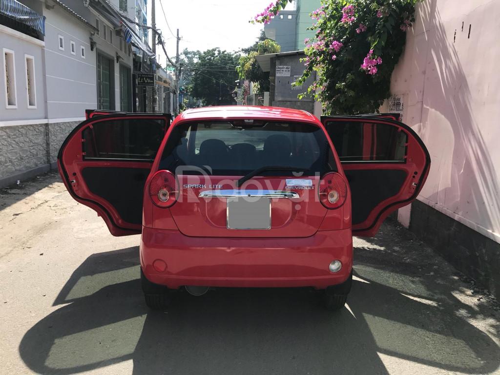 Chevrolet Spark Đỏ 2016 số sàn hai chỗ bán tải van