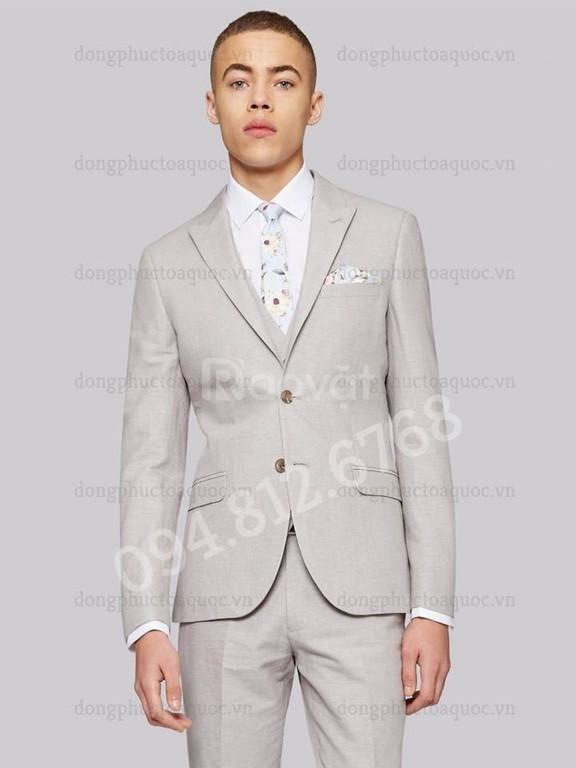 Nhận may đo và thiết kế vest nam công sở chuẩn dáng người mặc