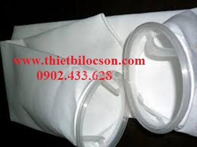 Túi lọc hóa chất size 2 bằng vải Polypropylene