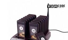 Bộ thiết bị báo rung gọi khách hàng lấy đồ uống VC-GK16 16 thẻ
