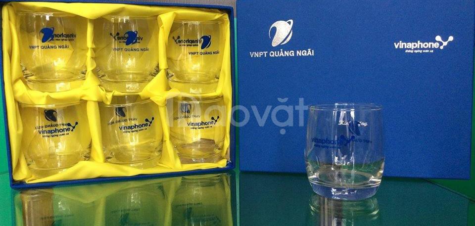 Sản xuất bộ ly in logo làm quà tặng tại Quảng Ngãi