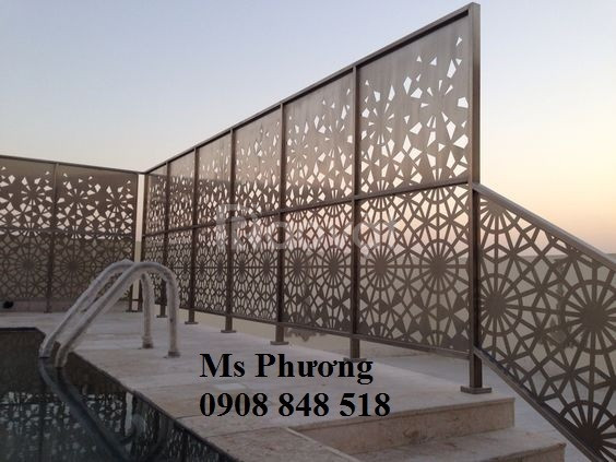 Gia công, thiết kế các mẫu hàng rào sắt uốn, sắt CNC