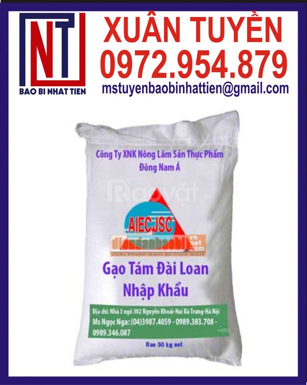 Chuyên cung cấp bao bì gạo 50kg (ảnh 5)