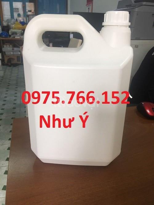 Can hoá chất 5l nắp geranty
