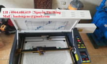 Máy cắt khắc laser 6040, máy laser 6040 cắt khắc quà tặng mica, gỗ