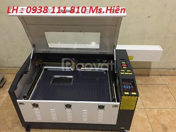 Máy laser cắt khắc gỗ, máy khắc laser 6040 giả rẻ tại Hà Nội