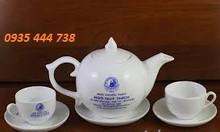 Cung cấp bộ ấm trà in logo tại Quảng Ngãi