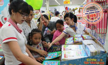 Bán sách vở cho học sinh giá rẻ