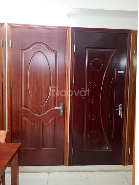Chuyên cung cấp cửa gỗ công nghiệp, cửa gỗ HDF giá rẻ