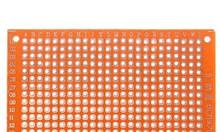 Test board hàn, bản mạch hàn 5x7cm sợi thủy tinh (vàng)