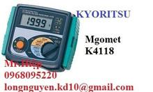 Đồng hồ đo điện trở cách điện Kyoritsu 3007A của Nhật