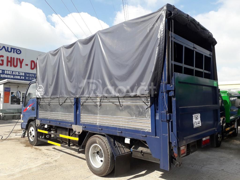 Xe tải Jac 2 tan 4 thùng bửng nâng đời 2019