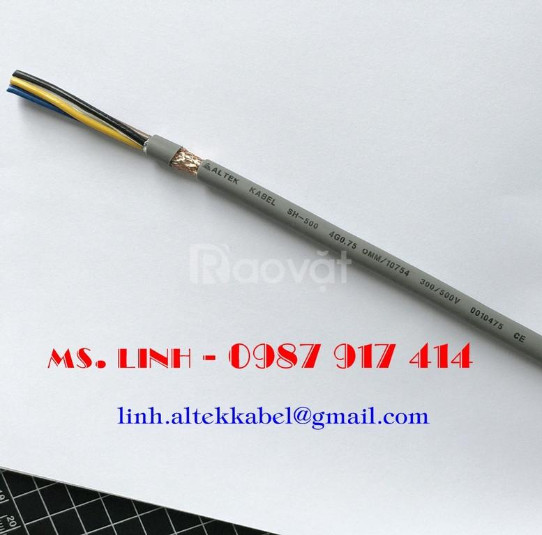 Cáp điều khiển 4x0.5 chống nhiễu/ Cáp chống cháy chống nhiễu 2x1.5