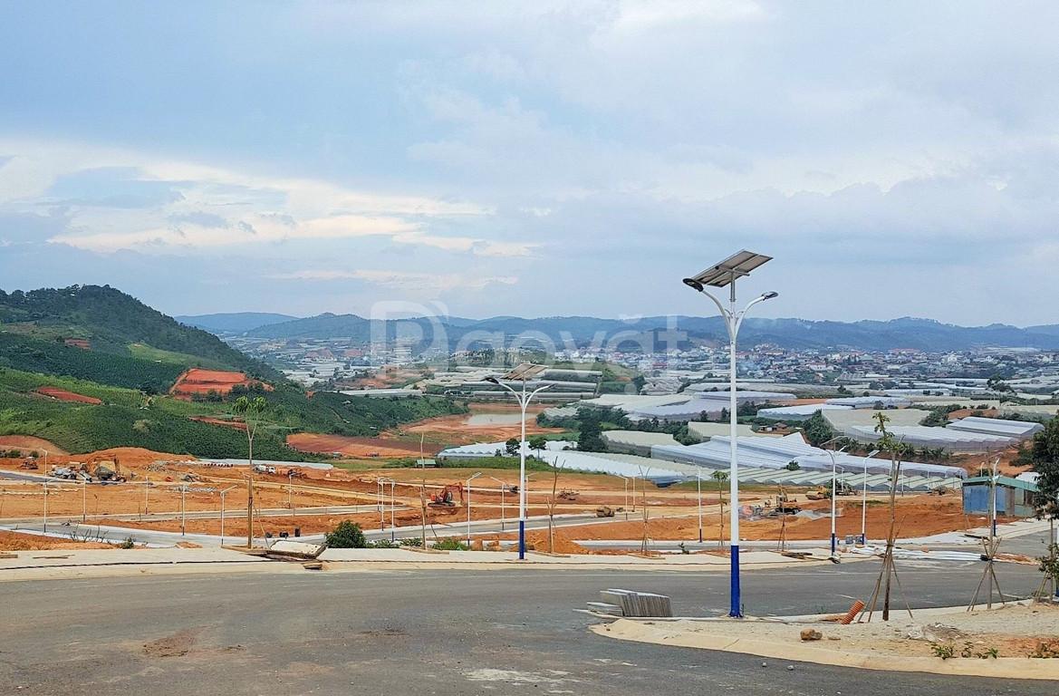 Bán đất dự án khu đô thị Vạn Xuân - LangBiang Town Đà Lạt, vị trí đẹp