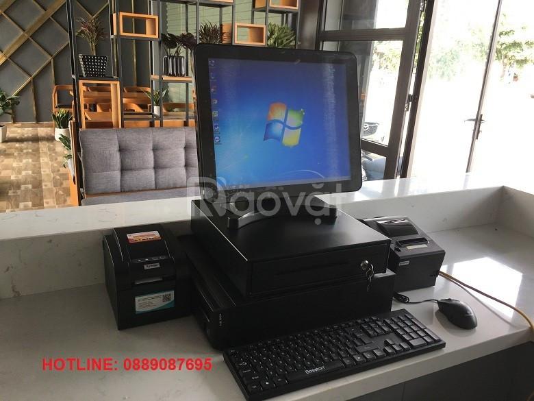 Bán máy tính tiền cho quán cà phê, trà sữa tại Đắk Nông giá rẻ