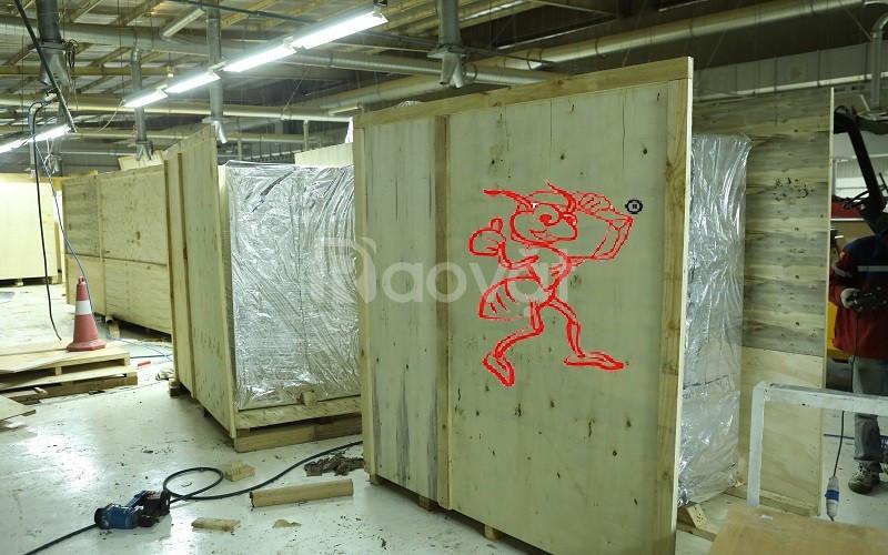 Đóng kiện gỗ máy móc xuất khẩu giá rẻ