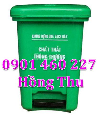 Thùng rác y tế 20l giá rẻ