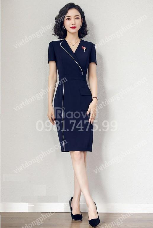 May đồng phục váy liền thời trang, chất đẹp, giá hấp dẫn