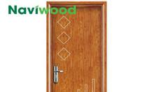 Cửa gỗ nhựa Naviwood tại quận 9