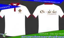 Cơ sở may áo thun đồng phục quán cafe vải thun lạnh