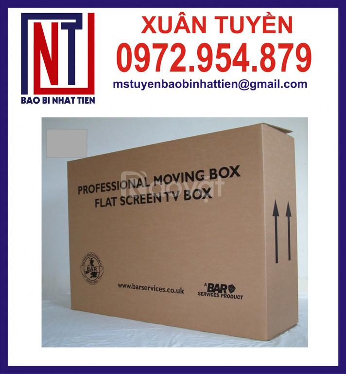 Chuyên cung cấp thùng carton 5 lớp in theo yêu cầu