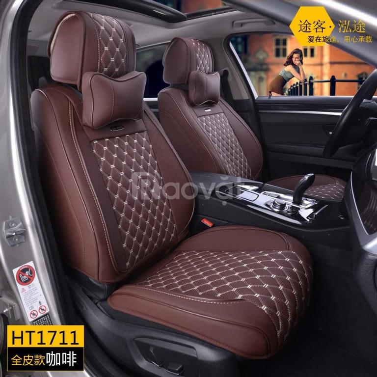 Áo ghế ô tô - Da CGT cao cấp