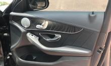 Xe C300, sản xuất 2015, bản AMG full option, màu đen