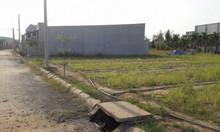 Đất nền, nằm mặt tiền đường, có sổ hồng riêng, có giấy phép, giá 610tr