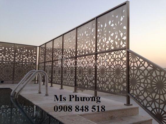 Thiết kế, gia công các mẫu hàng rào, khung hàng rào sắt bền đẹp
