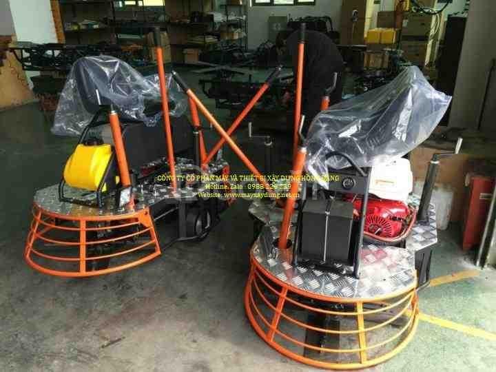 Máy xoa nền bê tông chạy xăng GX160
