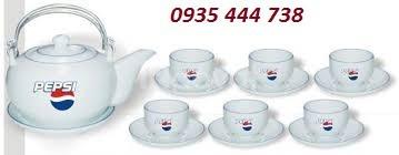 Sản xuất bộ ấm trà in logo Quảng Nam, Quảng Ngãi, Đà Nẵng