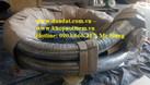 Khớp nối mềm có 1 lớp lưới inox 304 (nối bích ) (ảnh 1)