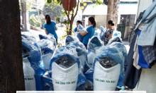 Thùng rác hình thú cá heo, thùng rác cá heo nhựa composite