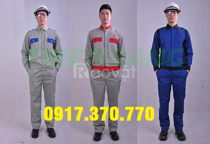 May đồng phục bảo hộ lao động theo yêu cầu