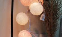 Đèn trang trí tiệc cưới - Dây đèn bóng len