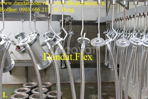 Dân Đạt - nhà phân phối Khớp nối mềm - Ống nối mềm inox