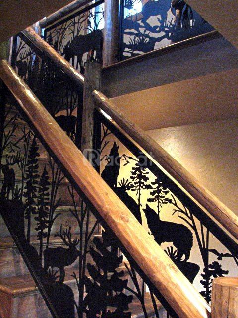 Các mẫu cầu thang kiểu dáng hiện đại, sang trọng