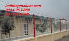 Lưới thép hàn mạ kẽm, hàng rào mạ kẽm, lưới hàn sơn tĩnh điện
