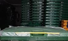 Thùng rác nhựa hdpe 660 lít giá bao nhiêu 1 thùng