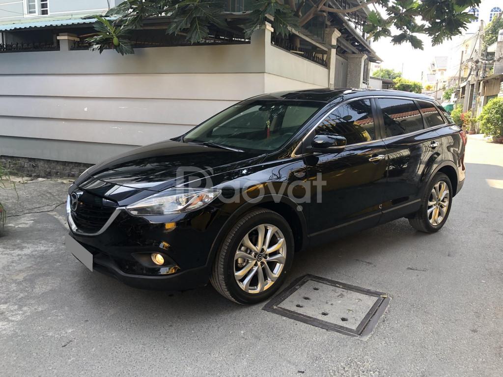 Bán Mazda CX9 màu đen 2014 xe chính chủ đi kỹ