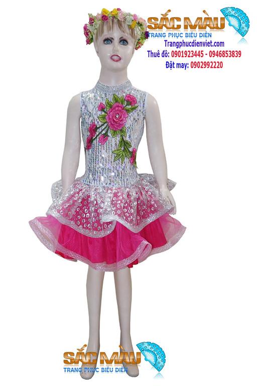 Thuê trang phục Đầm múa trẻ em giá rẻ ở đâu ?